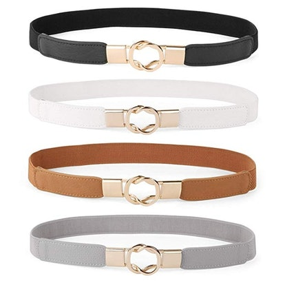 Retro Stretch Belts (Set of 4)