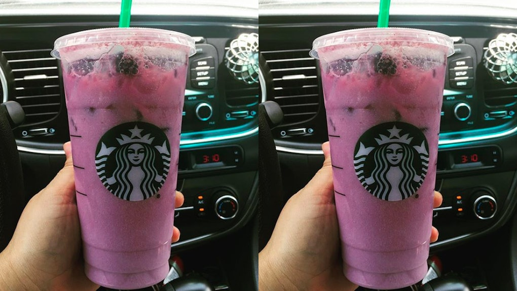 Here S How To Order Starbucks Purple Drink From The Secret Menu