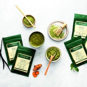 VAHDAM Matcha Green Tea Sampler (Set of 5)