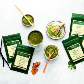 VAHDAM Matcha Green Tea Sampler (Set of 5)