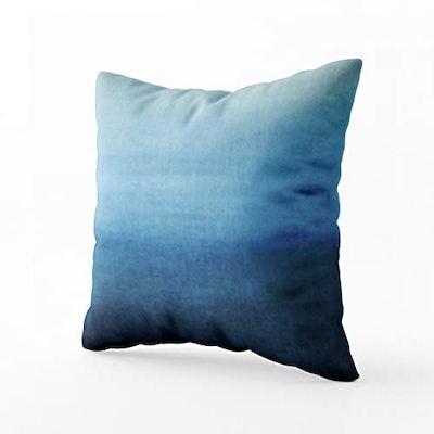TOMWISH Hidden Zippered Pillowcase Ocean