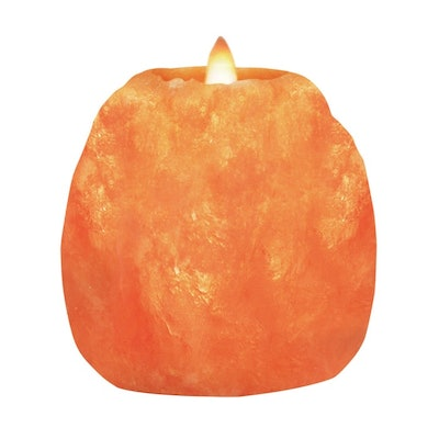 Himalayan Glow Salt Candle Holder