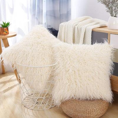 FURTALK Decorative Square Pillow