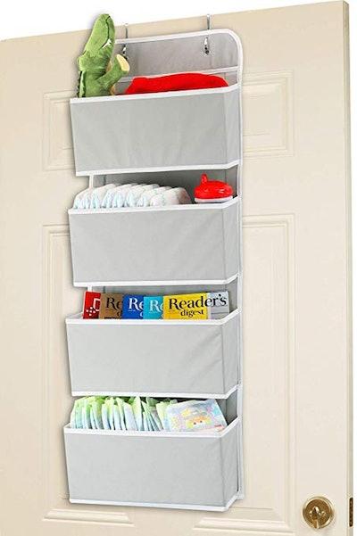 Simple Houseware Over The Door Hanging Organizer
