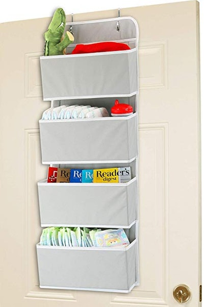 Simple Houseware Over The Door Hanging Organizer