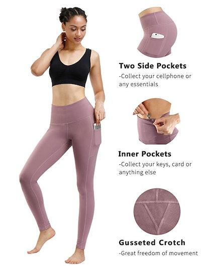 Fengbay High Waist Yoga Pants (2 Pack)