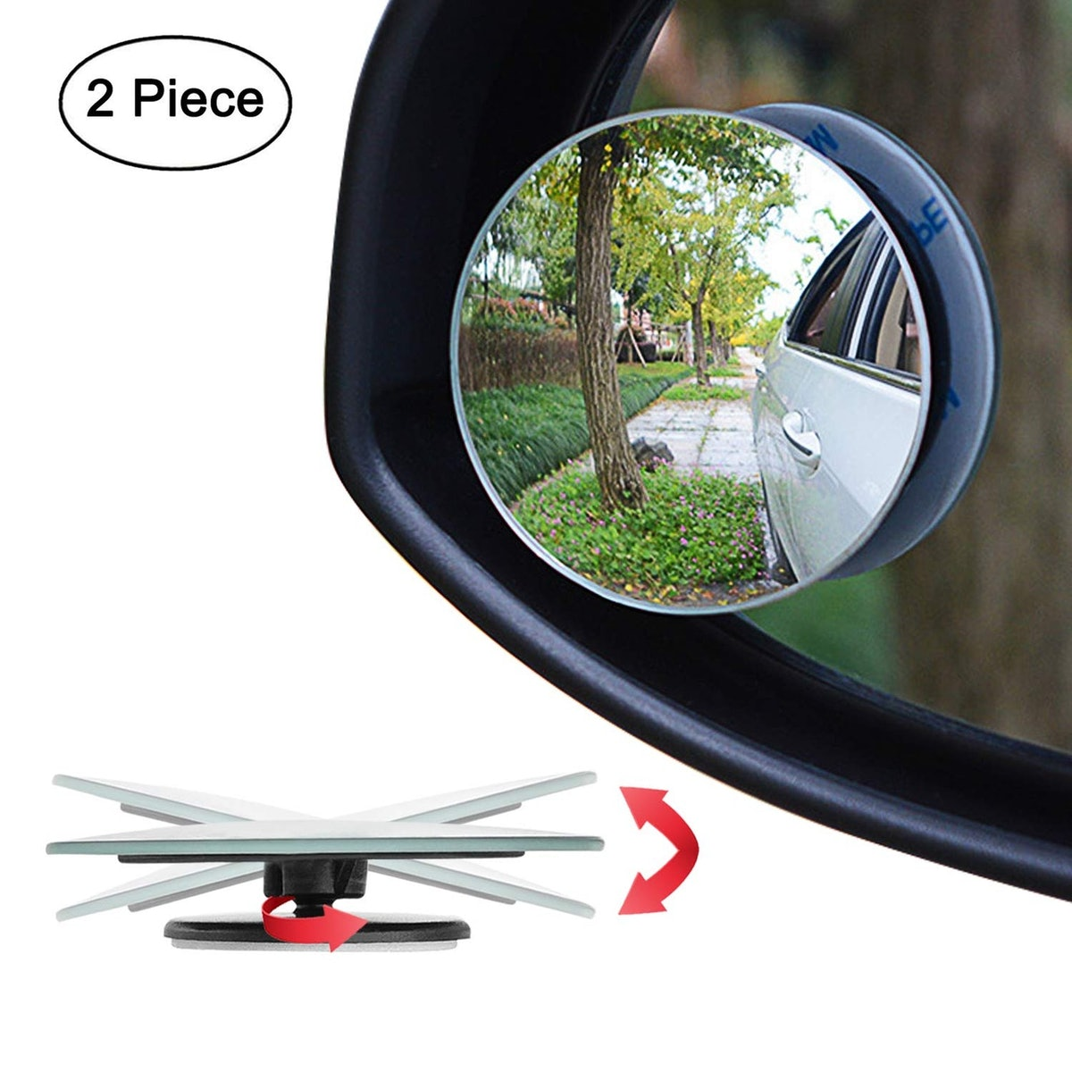 Ampper Blind Spot Mirror (2 Pack)
