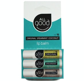 All Good SPF 15 Lip Balm (3-Pack)