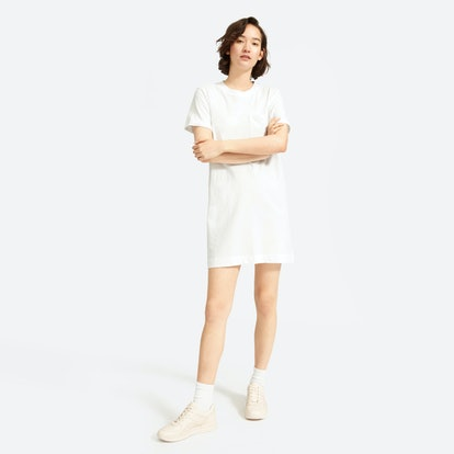 The Weekend Tee Dress - White
