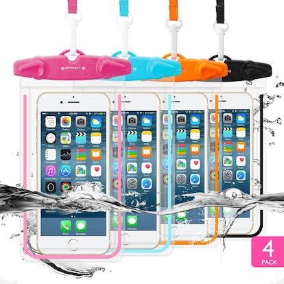 Fitfort 4-Pack Universal Waterproof Case