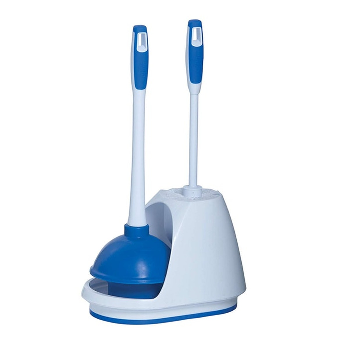 Mr. Clean Plunger And Bowl Brush Caddy Set