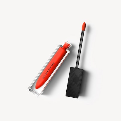 Burberry Kisses Lip Lacquer – Tangerine Red No.35