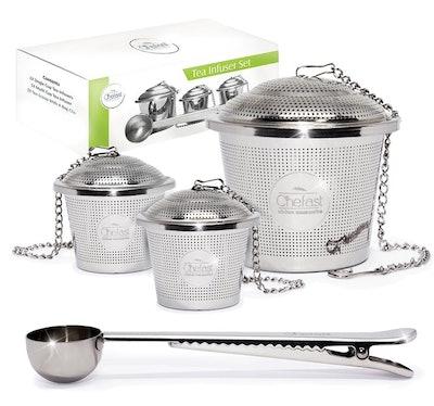 Tea Infuser Set by Chefast (Set of 3)