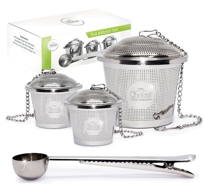 Tea Infuser Set by Chefast (Set of 3)