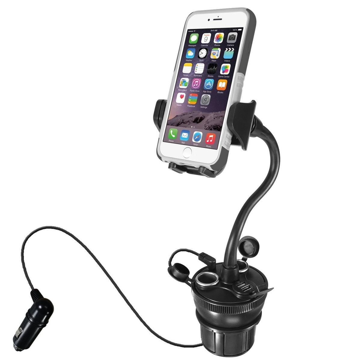 Macally Cup Holder Phone Mount
