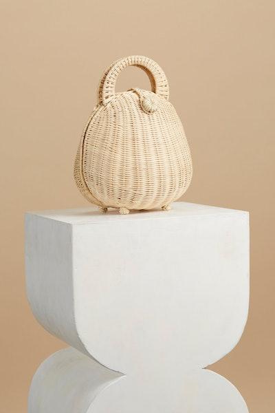 Millie Rattan Bag- Natural