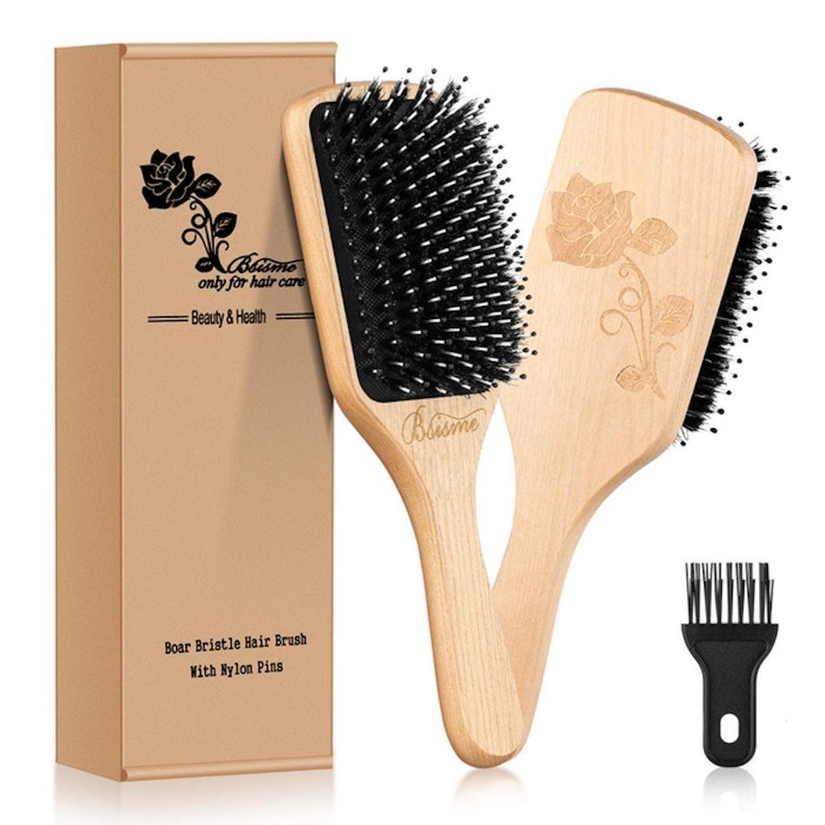 Bsisme Boar Bristle Hairbrush