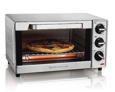 Hamilton Beach Stainless Steel 4-Slice Toaster Oven
