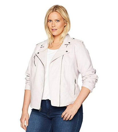 Levi's Outerwear Plus Size Classic Faux Leather Motorcycle Jacket