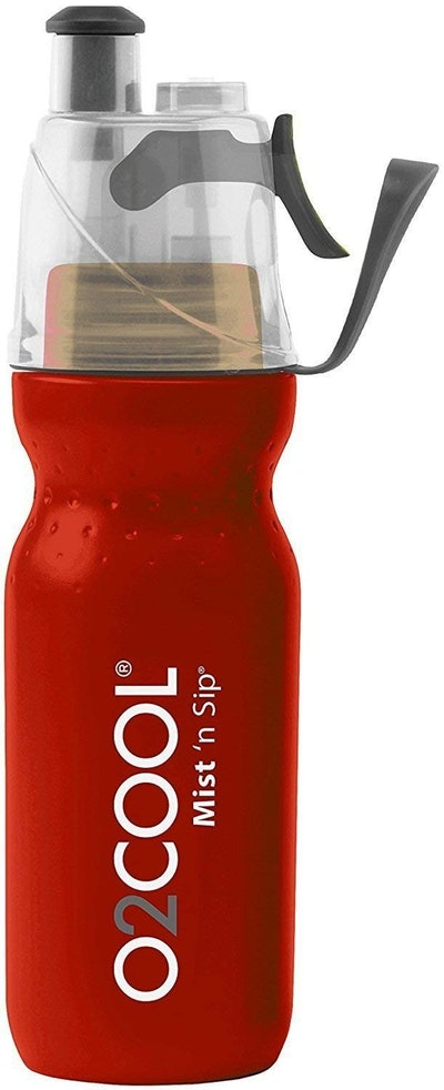 O2 Cool Mist 'N Sip Drinking and Misting Bottle