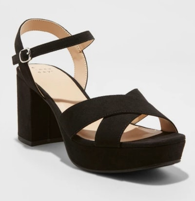 A New Day Gabriella Mid Heel Platform Pumps