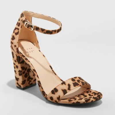 A New Day Ema High Block Heeled Pumps