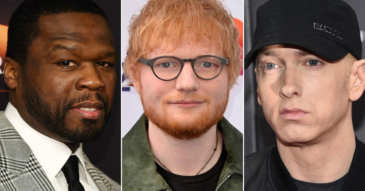 """The Tweets About Ed Sheeran, Eminem, & 50 Cent's """"Remember the Name"""" All Say 1 Thing"""