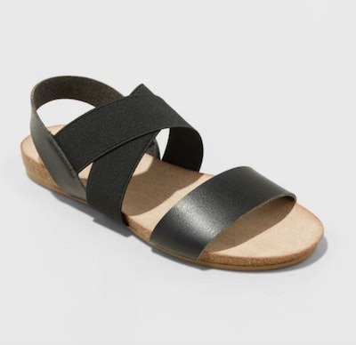 Universal Thread Kerryn Elastic Strap Footbed Slide Sandals
