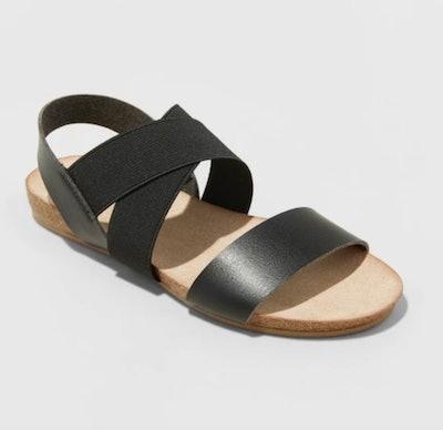 Universal Thread Kerryn Elastic Strap Footbed Slide Sandals