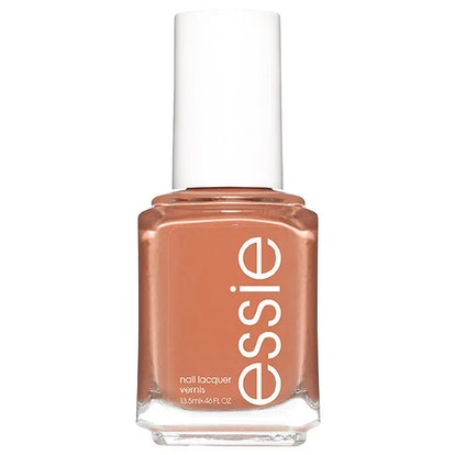 Essie Nail Polish, Rocky Rose Collection, Milky Brown Nude, Cliff Hanger