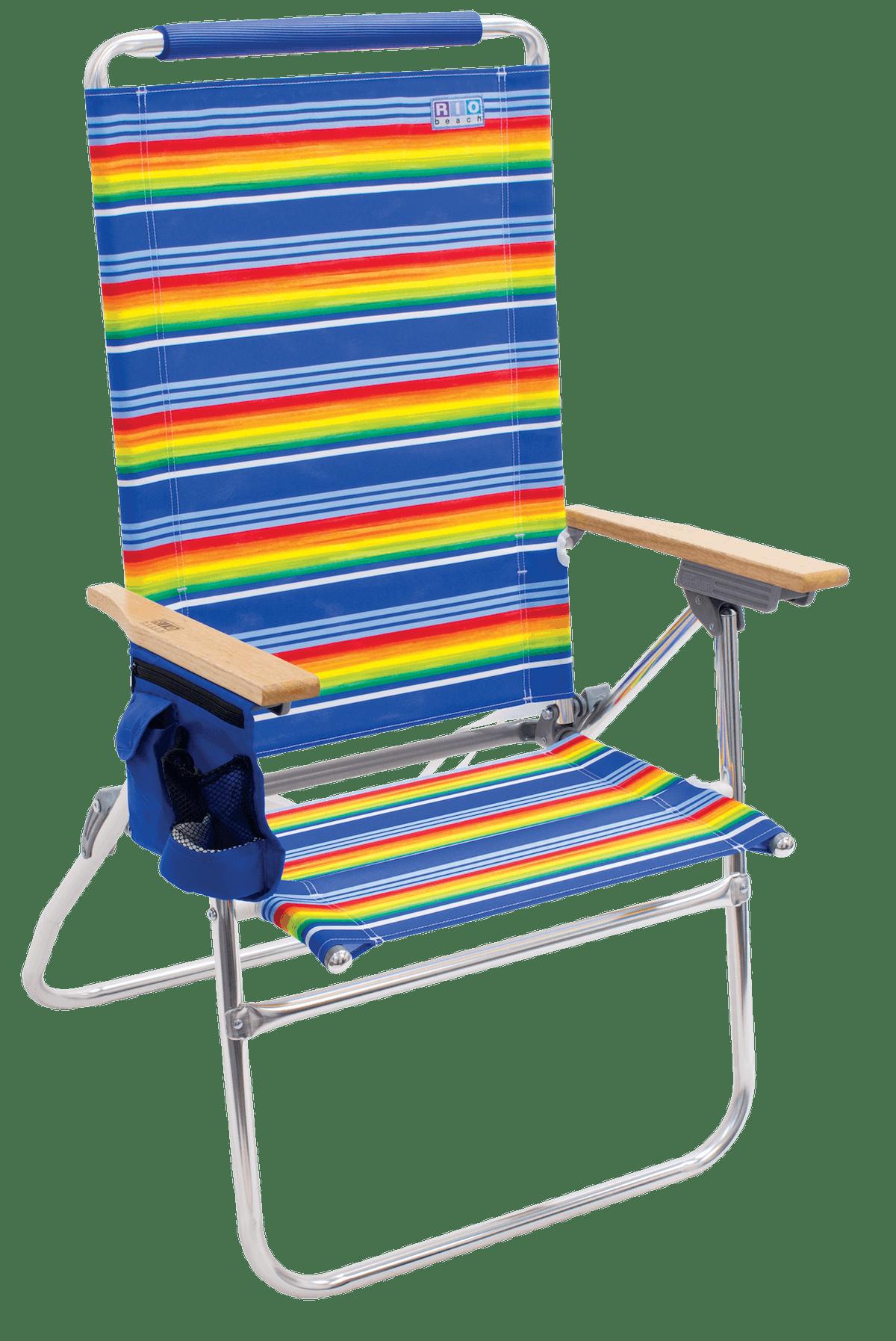 RIO Beach Hi-Boy Tall Back Beach Chair