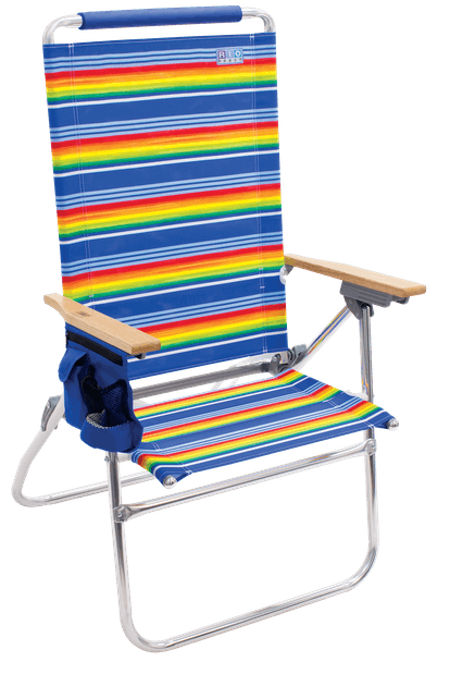 RIO Beach Hi-Boy Tall Back Beach Chair