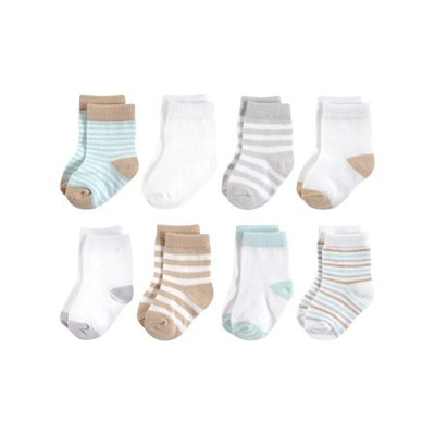 Organic Socks, 8pk (Baby Boys or Baby Girls Unisex)