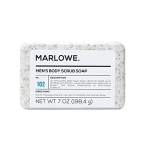 Marlowe. No. 102 Men's Exfoliating Body Scrub Soap