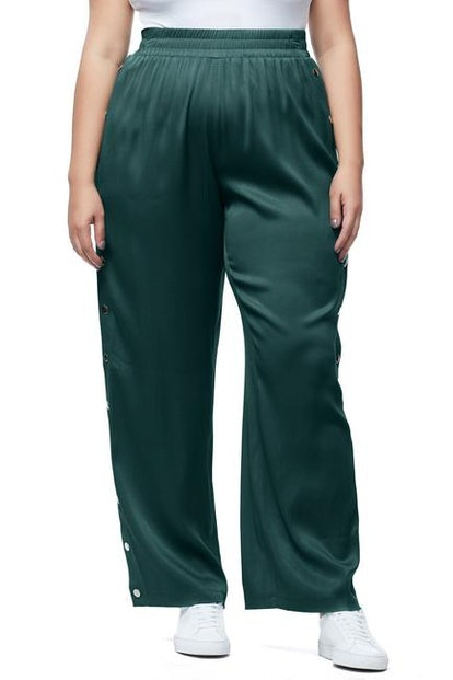 The Satin Snap Pant