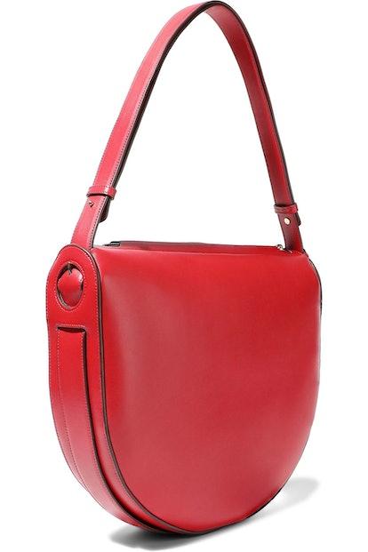 Victoria Beckham Swing Leather Shoulder Bag