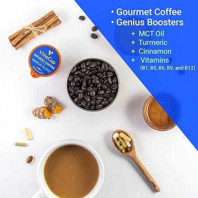 VitaCup Genius Blend Coffee Pods (16 Pack)