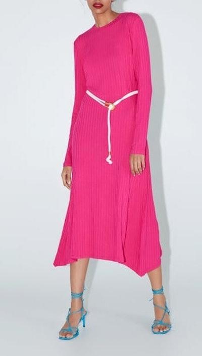Long Belted Dress