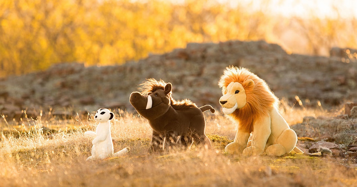 Build-A-Bear Workshop's Lion King Range Is What Disney Dreams Are Made Of