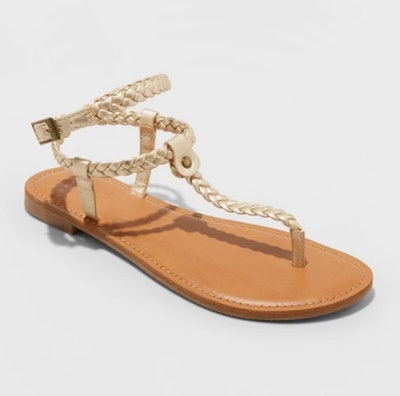 Universal Thread Larissa Braided Ankle Wrap Sandals