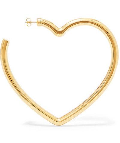 Gold-Tone Earring