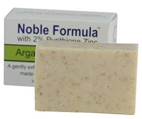 Noble Formula 2% Pyrithione Zinc (ZnP) Argan Oil Bar Soap