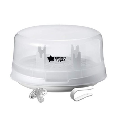Tommee Tippee Microwave Travel Steam Baby Bottle Sterilizer