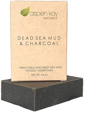 Aspen Kay Dead Sea Mud & Charcoal Soap