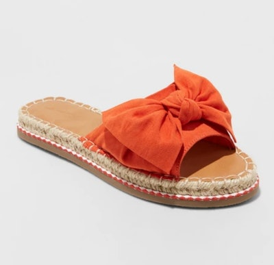 Universal Thread Women's Sigma Espadrille Knotted Bow Sandals
