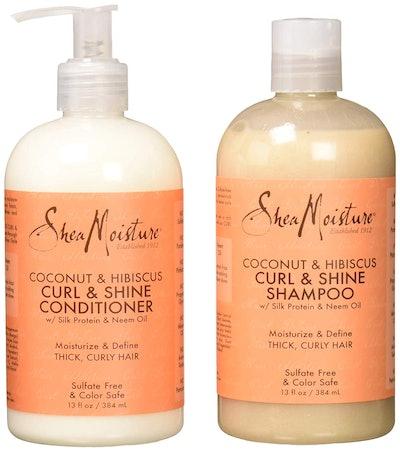 Shea Moisture Coconut & Hibiscus Curl & Shine Set