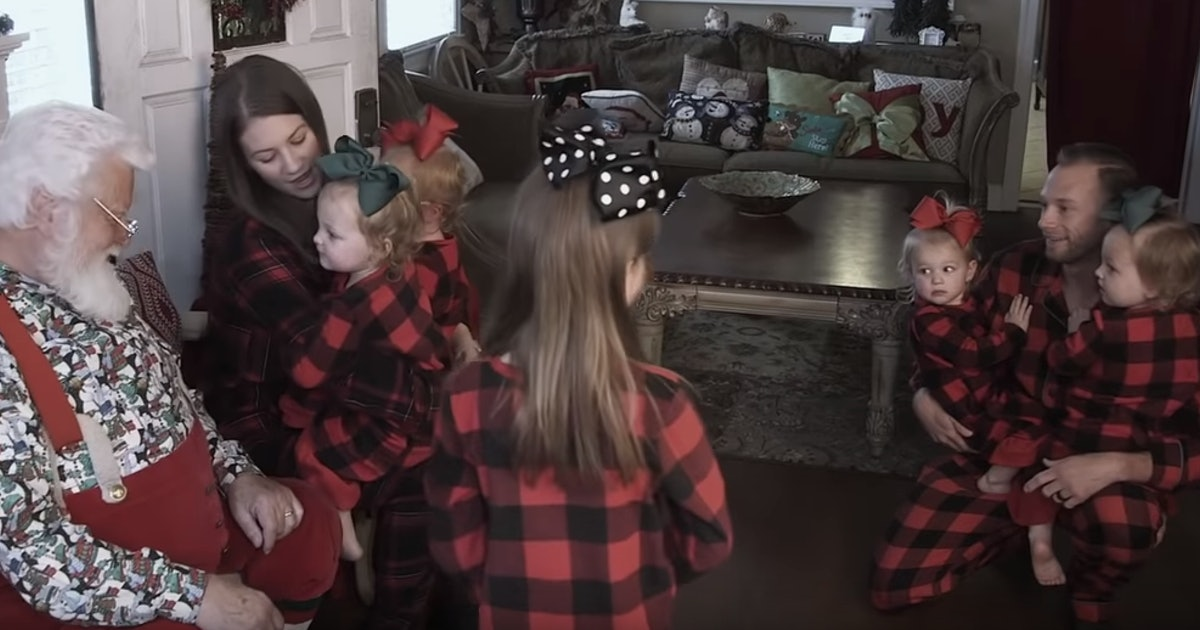 The Busby Quints Visit Santa On 'Outdaughtered' — EXCLUSIVE
