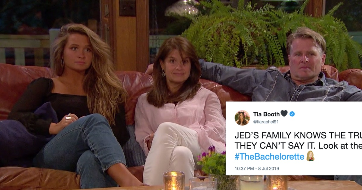 Tweets About Jed's Hometown Date On 'The Bachelorette' All Point Out The Same Thing
