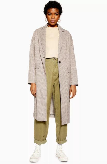 Check Lightweight Coat