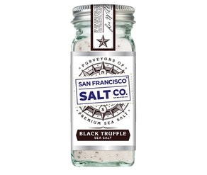 San Francisco Salt Company Black Truffle Sea Salt